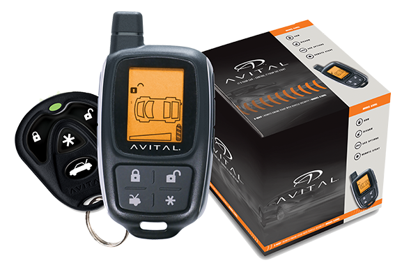 Avital 5305L Security Remote System