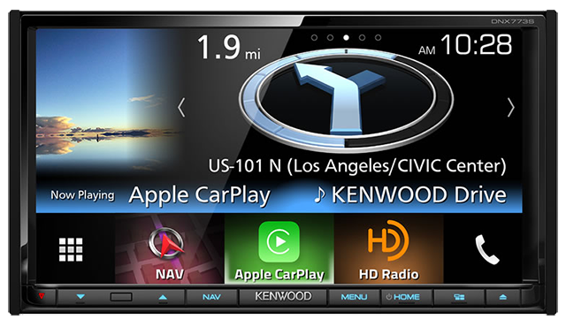 Kenwood DNX773S Navigation CarPlay