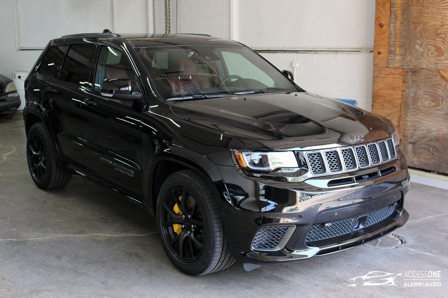 2018 Jeep Grand Cherokee TrackHawk Speed Protection