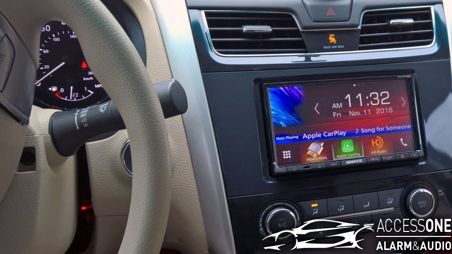 Nissan Altima For Kenwood Technology Upgrade