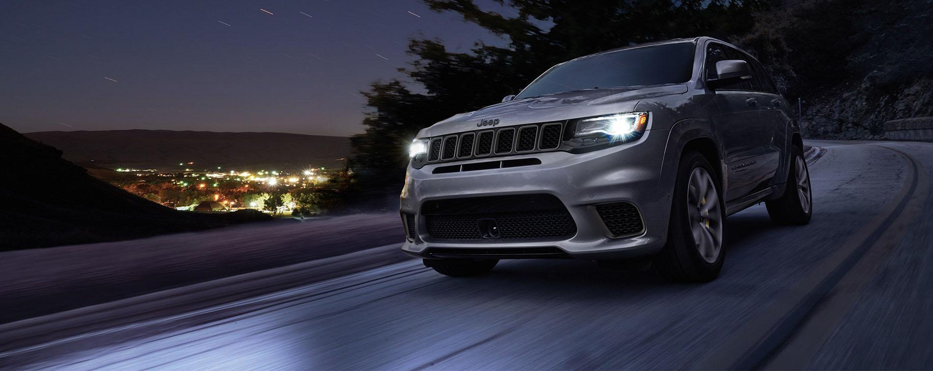 2018 Jeep Grand Cherokee TrackHawk Speed Protection