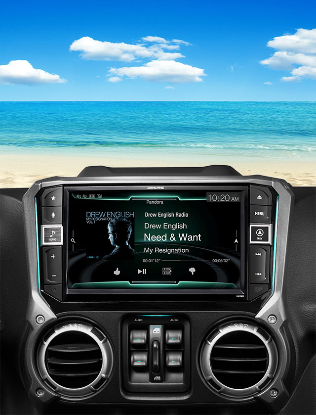 Alpine X209-WRA Navigation CarPlay