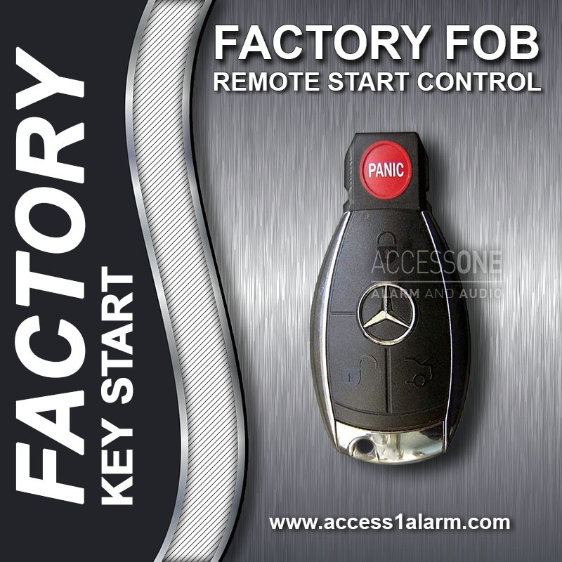 2016-2019 Mercedes-Benz GLE Class Basic Factory Key Fob Remote Start With  OEM PTS
