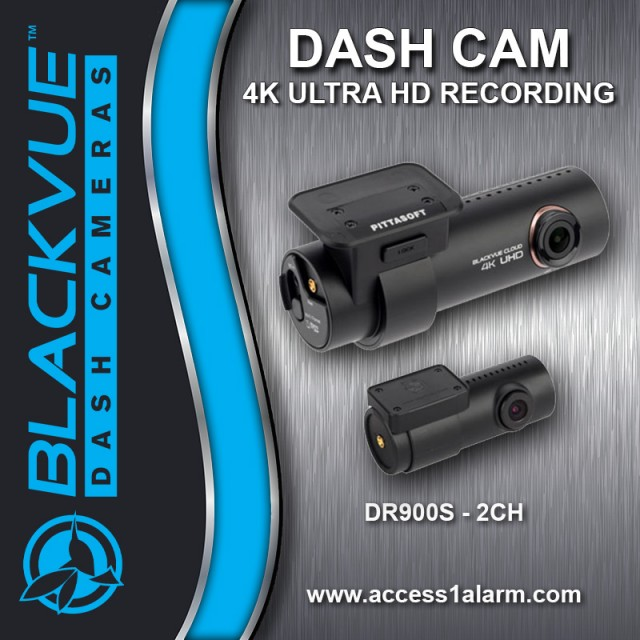 Blackvue DR900S-2CH 4K Ultra HD DVR Camera