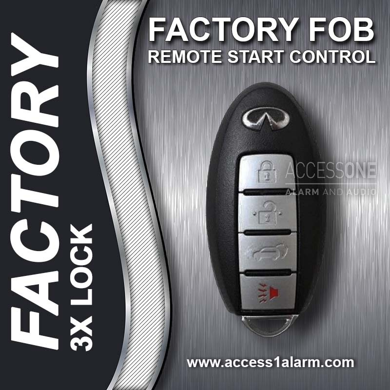 Infiniti Q70 Basic Factory Key Fob Remote Start