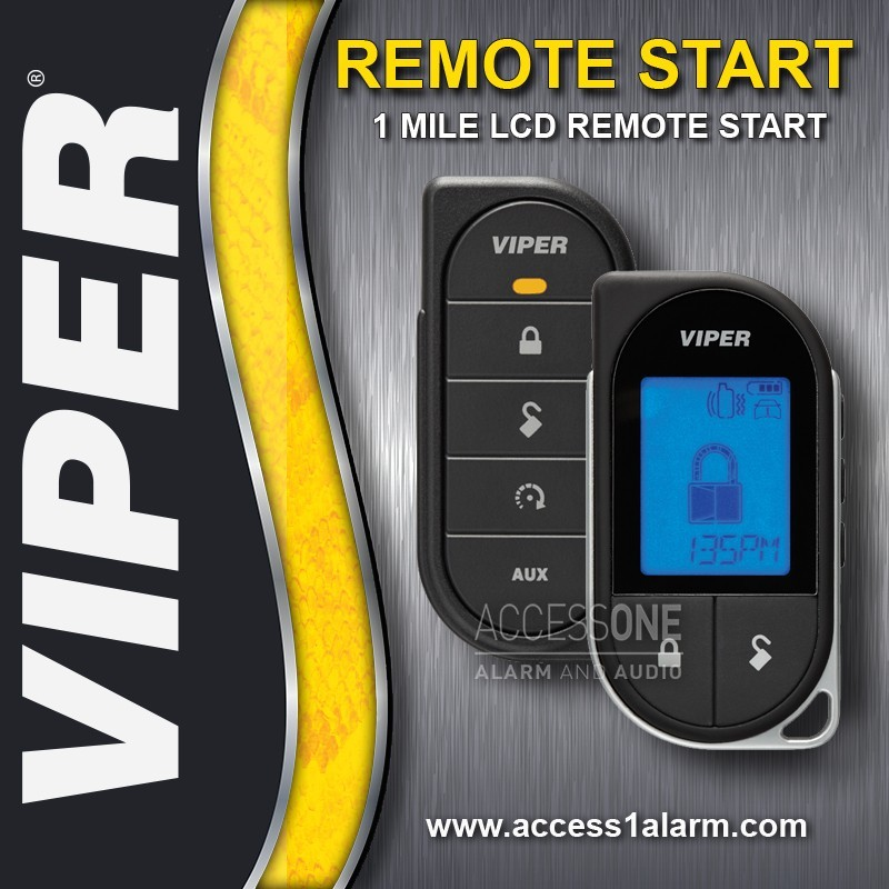 Ford Focus Viper 1-Mile LCD Remote Start System